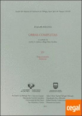 Luis Michelena. Obras completas. XV. Bibliografía. Índices por Michelena Elissalt, Luis