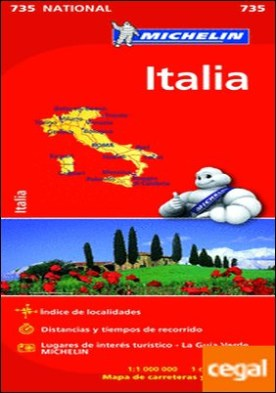 Mapa National Italia . 2015