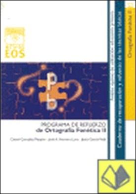Ortografía Fonética II por García Vidal, Jesús PDF