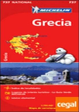 Mapa National Grecia . 1:700.000