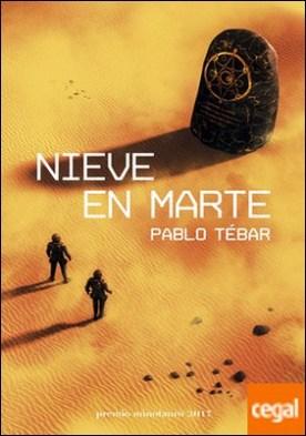 Nieve en Marte . Premio Minotauro 2017