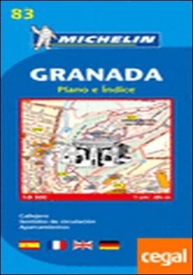 Plano Granada . Escala 1/8 500 - 1cm: 85m.