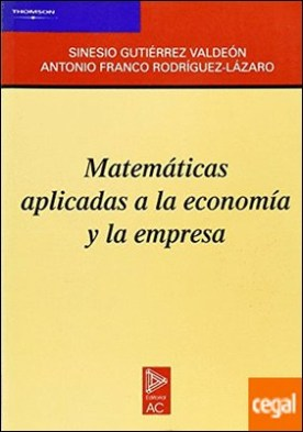 Matemáticas aplicadas a la economía y la empresa