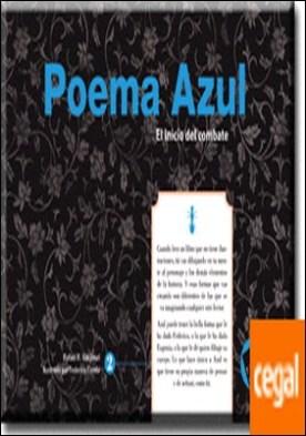 Poema Azul (serie Azul 2 de 8) por R. Valcárcel, Rafael