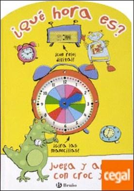 ¿Qué hora es? . Juega y aprende con Croc y Bot