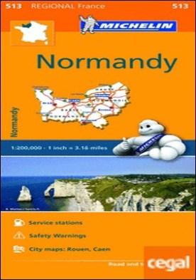 Mapa Regional Normandy
