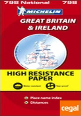 Mapa National Gran Bretaña Irlanda