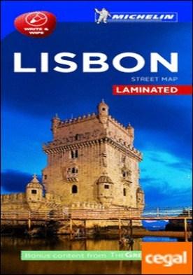 Plano Lisboa laminated