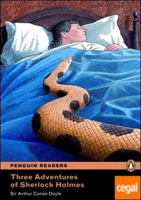 Penguin Readers 4: Three Adventures of Sherlock Holmes Book & MP3 Pack