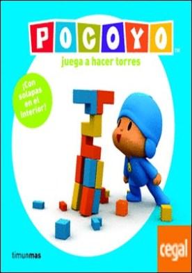 Pocoyó juega a hacer torres . Libro con solapas