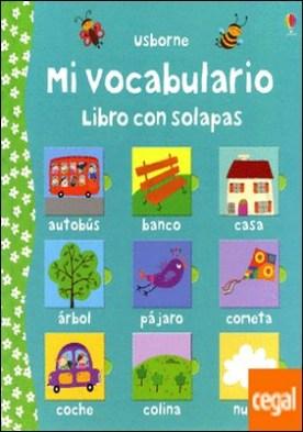 Mi vocabulario . Libro con solapas