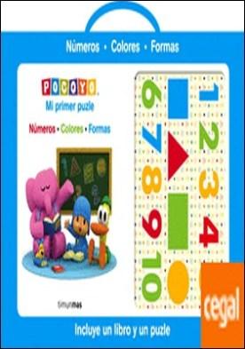Pocoyó. Mi primer puzle . Números Colores Formas