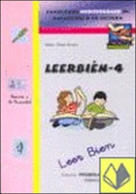 Leer bien 4 . Cuadernos Mediterráneo de Animación a la Lectura