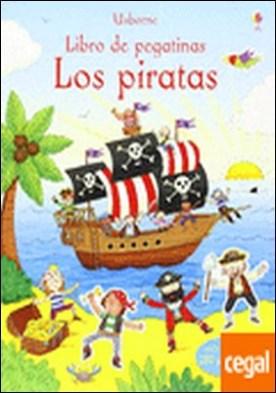 Los piratas . Libro de pegatinas