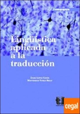 Lingüística aplicada a la traducción