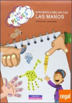 Los peques aprenden a dibujar con las manos