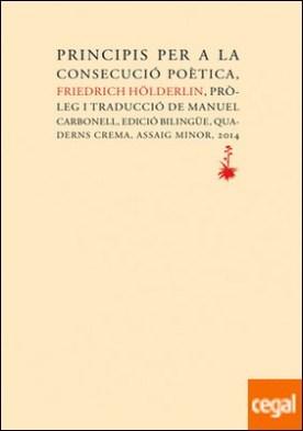 Principis per a la consecució poètica