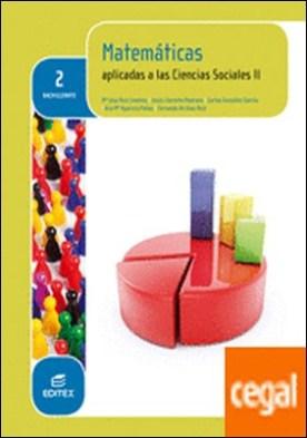 Matemáticas aplicadas a las Ciencias Sociales II 2º Bachillerato (LOMCE) por Ruiz Jiménez, Mª José