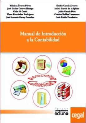 Manual de introducción a la contabilidad