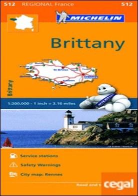 Mapa Regional Brittany