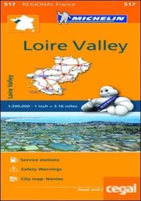Mapa Regional Loire Valley