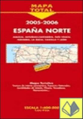 Mapa de carreteras a escala 1:400.000 España Norte, 2005-2006