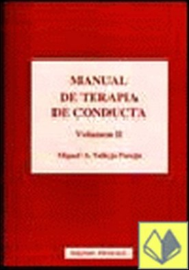 MANUAL DE TERAPIA DE CONDUCTA voL II