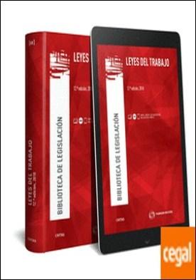 Leyes del Trabajo (Papel + e-book) por Montoya Melgar, Alfredo