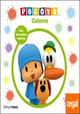 Pocoyó. Colores . Libro con relieve