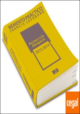 Memento Práctico Acceso a la Abogacía 2013-2014