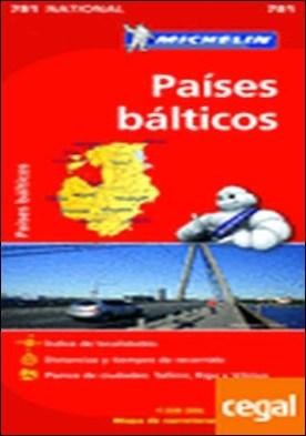 Mapa National Países Bálticos . 1:500000