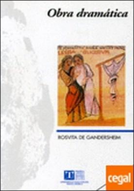 Obra dramática de Rosvita de Gandersheim por Santos Paz, Xosé Carlos PDF
