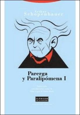 Parerga y paralipómena I por Arthur Schopenhauer PDF