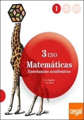 Matemáticas orientadas a las enseñanzas académicas 3 ESO