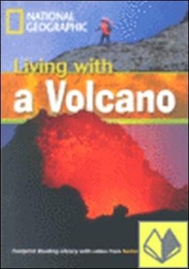 LIVING WITH A VOLCANO + DVD (INTERMEDIATE B1)