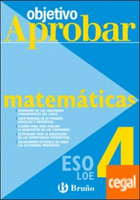 Objetivo aprobar Matemáticas A 4 ESO