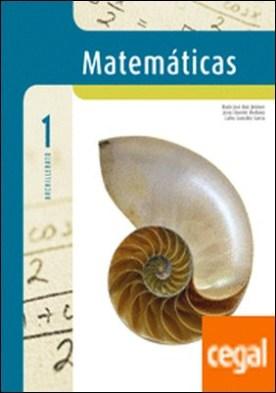 Matemáticas aplicadas a Ciencias Naturales 1º Bachillerato por González García, Carlos