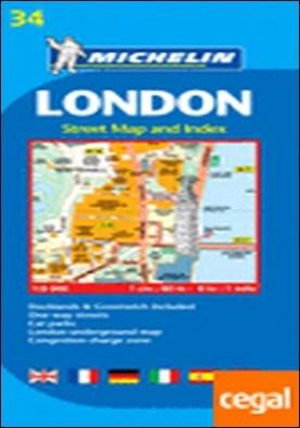 Plano London . 1:8.000