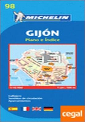 Plano Gijón . 1/9.000