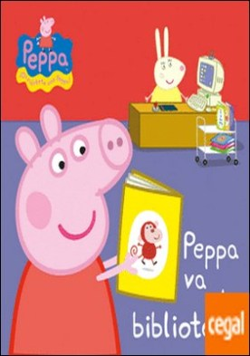 Peppa va a la biblioteca (Peppa Pig. Todo cartón)
