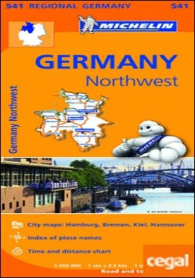 Mapa Regional Germany Northwest