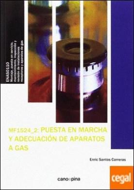 MF1524 Puesta en marcha y adecuación de aparatos a gas