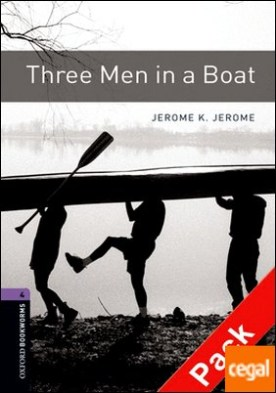 Oxford Bookworms 4. Three Men in a Boat CD Pack