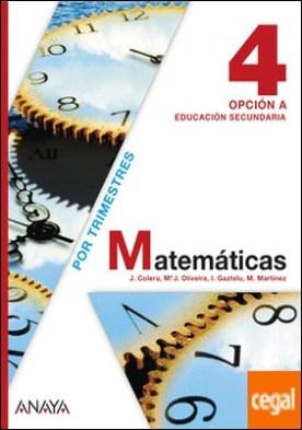 Matemáticas 4. Opción A.