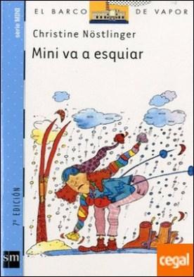 Mini va a esquiar