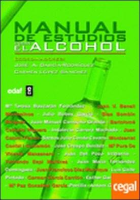 Manual de estudios sobre el alcohol