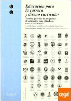 Pràcticum de la llicenciatura de pedagogia . Teoría y Práctica de Programas de Educación para el Trabajo
