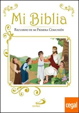Mi Biblia . Recuerdo de mi Primera Comunión