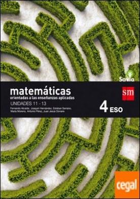 Matemáticas orientadas a las ciencias aplicadas. 4 ESO. Savia. Trimestres