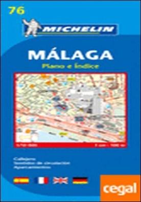 Plano Málaga . Callejero Escala 1:10.000